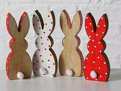 Bunny Crafts, Easter Crafts, Holiday Crafts, Oster Dekor, Crafts To Sell, Diy And Crafts, Lapin Art, Tole Painting Patterns, Idee Diy