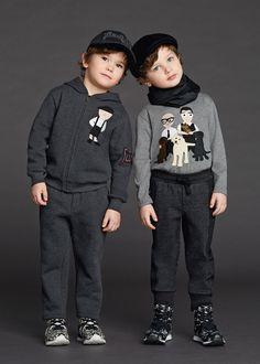 Dolce & Gabbana Children Winter Collection 2016                                                                                                                                                                                 Más