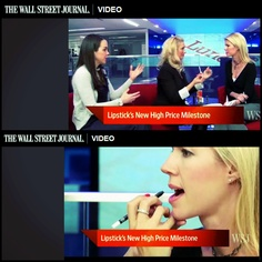 I shared the bold lip fun with Wendy Bounds on WSJ.com's Lunch Break. Watch here: http://on.wsj.com/zX8n4T