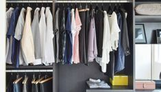 KonMari not working? Expert organizer identifies 7 emotional blocks that will help you finally declutter Closet Clean, Reach In Closet, Simple Closet, Wardrobe Organisation, Closet Organization, Organization Ideas, Wardrobe Ideas, Konmari, Space Saving Hangers