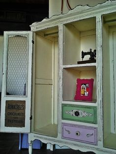 Shabby Chic Display Furniture For Womens Clothing Boutique.