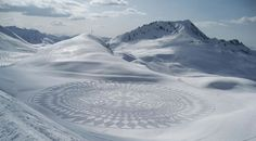 Art dans la neige