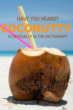 There's no better place to enjoy a coconutty drink than at Sunscape Sabor Cozumel!