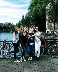 """M. Y.  S. Q. U. A. D.  I. S.  B. E. T. T. E. R.  T. H. A. N.  Y. O. U. R. S. • • • #mysquadisbetterthanyours #squad #squadgoals #friendship #lawgirls #uneincruste #color #colorfull #amsterdam #amsterdamcity #trowback🔙 #picoftheday #memories #holidays #tripwithfriend #tb #tbt #netherlands #nederland #life #travelblogger #like #instagram #mood #moodoftheday #instalike #like4like #follow #belgianblogger #blogueusebelge"" by @alexandra_wtrc (Alexandra Watrice). #turismo #instalife #ilove…"