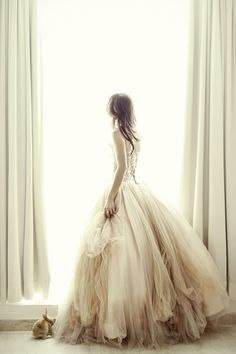 Cecilia: A Bunny-Filled Bridal Portrait Session