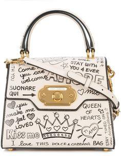 Dolce & Gabbana Dolce E Gabbana Women's Beige/White Leather Handbag Clear Handbags, Pink Handbags, Vintage Handbags, Handbags On Sale, Fashion Handbags, Tote Handbags, Luxury Handbags, Tote Purse, Popular Handbags