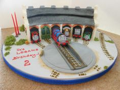 tidmouth shed birthday cake
