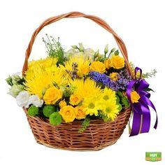 Сила Цветов, Цветочные Композиции, Красивые Цветы, Праздники, Корзины