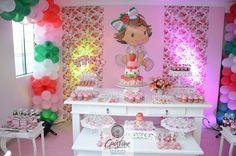 festa infantil: tema moranguinho baby