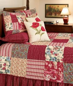 'Gypsy Patchwork' quilt from Country Curtains - love the colors.
