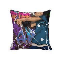 Hip Hop Star Pillows