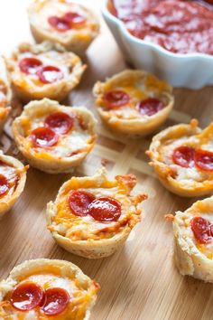 No-fuss Gluten-Free Pizza bites are the perfect appetizer for your Super Bowl party!