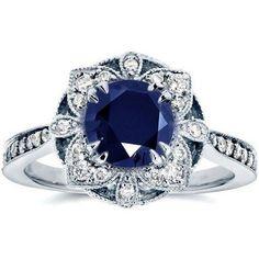 100 Antique And Unique Vintage Engagement Rings (25)