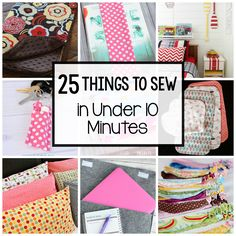 Do you ever have the inclination to sew something quick and easy? Something you can sit down and start and finish in one quick sitting? I love a simple project that can be done quickly, so today I …