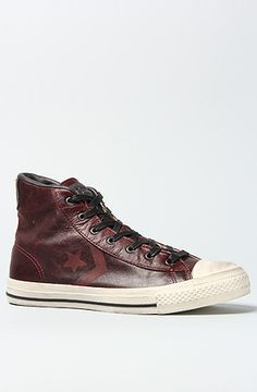 Awesomely aged: Converse The John Varvatos Star Player Sneaker in Cordovan