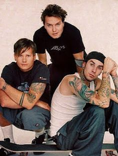 when Tom Delonge announces that Blink is releasing their best music yet . even though he seems to always think that. Music Love, Good Music, Scouting For Girls, Green Day American Idiot, Tom Delonge, Travis Barker, Music Stuff, Music Things, Blink 182