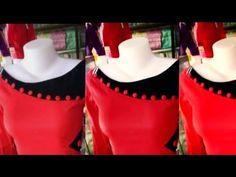 Churidhar Neck Designs, Salwar Neck Designs, Saree Blouse Neck Designs, Neck Designs For Suits, Churidar Designs, Neckline Designs, Dress Neck Designs, Designs For Dresses, Collar Kurti Design