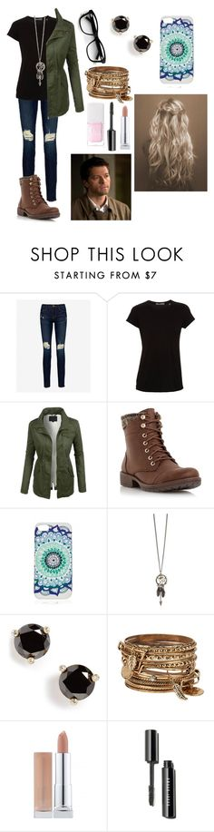 """""""Casual date with castiel"""" by gglloyd ❤ liked on Polyvore featuring mode, Frame Denim, Vince, LE3NO, Head Over Heels by Dune, Kate Spade, ALDO, Christian Dior, women's clothing en women's fashion"""