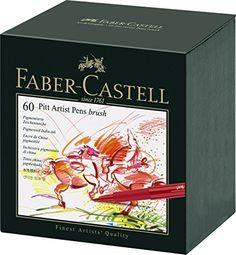 Faber Castell 60 Piece Pitt Artist Brush Pen Set Gift Box, http://www.amazon.com/dp/B00KYTNNY2/ref=cm_sw_r_pi_awdm_xs_f4MmybGMRTWKK