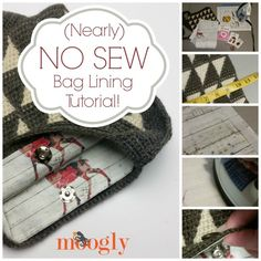 Subscribe to the Free Weekly Newsletter Crochet bags, purses, and totes are fun to make, and fun to use! But sometimes a bag just really needs a liner before it's ready to go out on the town. Oh, but you don't have a sewing machine, and that's too much to sew by hand? No problem! [...]