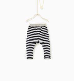 ZARA - KIDS - Striped leggings