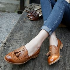Find More Women's Flats Information about Spring Fall British Vintage Women Oxford Shoes Shallow Mouth Tassel Carved Rough Heel Brogue Shoes Women Slip On Fashion Falts,High Quality shoes aaa,China shoes zidane Suppliers, Cheap shoe shoes baby from Fashion Boutique Discount Stores on Aliexpress.com