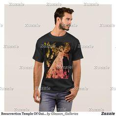 Resurrection Temple Of Guitars Designer T-shirts