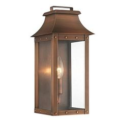 Acclaim Lighting 8413AB Manchester Collection Wall Lantern 1-Light Outdoor Light Fixture ManchesterCollection - - Amazon.com