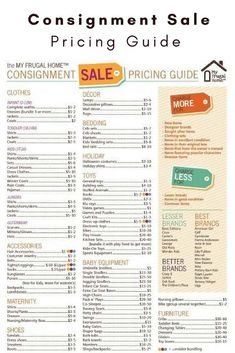 38 Best Garage Sale Pricing images in 2019 | Garage sale pricing