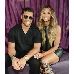 Russell Wilson and Ciara  - 12 Celebrity Couples Who Are Big On Faith and Love