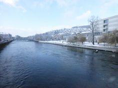 Wintereinbruch im Westen.