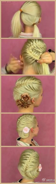 Braided up-do!