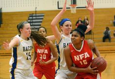 NFA earns right to defend ECC girls basketball title - Senior captain Cebria Outlow will play in her fourth straight ECC championship game on Friday after the No. 3 Wildcats downed No. 2 Bacon Academy, 54-40, in the semifinals Wednesday at Plainfield High School. Read more: http://www.norwichbulletin.com/article/20160224/sports/160229742 #Ctsports #HSSports #Sports #GirlsBB #Basketball #ECC
