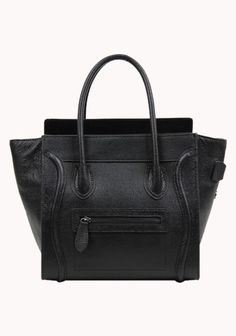 Vanessa Medium Tote In Leather Black  Oh man oh man, I don't even like purses that much but look at it. Just look at it.