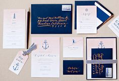 Calligraphy Inspiration: Papermade Design | Photo Credit: Erin J Saldana Photography