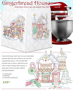 Gingerbread-Houses, I think I have to make this.