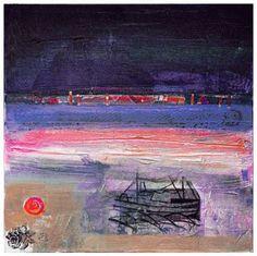 Inishkeas Memory by Barbara Rae Abstract Landscape, Landscape Paintings, Landscapes, Abstract Paintings, Barbara Rae, Glasgow School Of Art, Royal Academy Of Arts, Artist Profile, World Of Color
