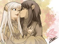 The Dark Crystal Jen and Kira (c) Jim Henson DC - Gelfling Dark Crystal Movie, The Dark Crystal, Adobe Photoshop Elements, Magical Creatures, Cultura Pop, Another World, Picture Show, The Darkest, Cool Art
