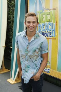 Kent Boyd of So You Think You Can Dance plays a totally flirtatious member of the surfer gang