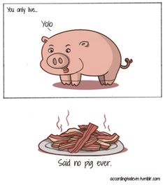 Pig X bacon Funny Pins, You Funny, Comics Online, Invite Your Friends, Yolo, Charlie Brown, Haha, Daddy, Draw