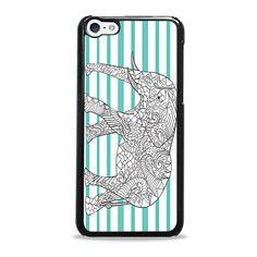 Blue Elephant iPhone 5c case