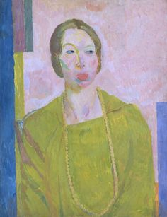 Mrs St John Hutchinson (1915) by Vanessa Bell (1879-1961), English (terminusantequem)