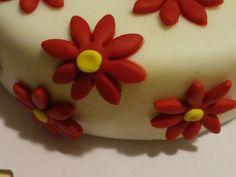 Una torta floreale per una cara amica