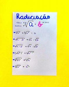 Resumo de Matemática : Radiciação