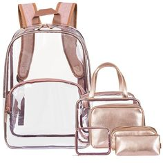 Clear Officially Licensed NCAA X-Ray Clear Mini-Backpack 9