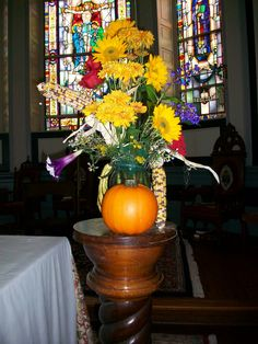 harvest design for November - Cathedral of St. Luke and St Paul. Charleston SC