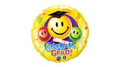 Smiley Face Balloon With Graduation Cap are perfect for any graduation day celebration. Hundreds of latex and mylar balloons in stock! Mylar Balloons, Smiley Faces, Emoji, Shapes, Graduation, Party, Celebration, Rest, Products