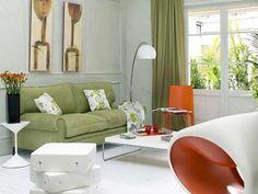 colores diferentes, armonía de colores en tu sala