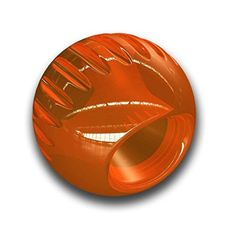 Bionic BACL205 Ball Durable Dog Chew Toy Treat Toy Large Orange -- Check this awesome product by going to the link at the image.(This is an Amazon affiliate link and I receive a commission for the sales)