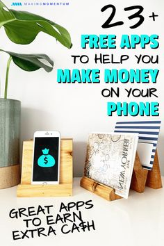 Want to make money from your phone and help reach your financial goals? Here are 23 of the best money making apps to earn extra cash in 2020 (easy & legit). Earn More Money, Make Money Fast, Make Money Blogging, Money Tips, Make Money From Home, Money Saving Tips, Make Money Online, Ideas To Make Money, Earn Extra Cash